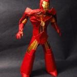iron man origami figure