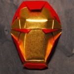 iron man origami mask