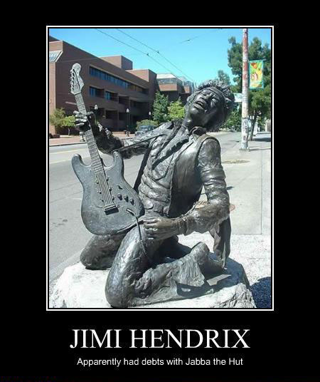 jimi hendrix frozen in carbonite