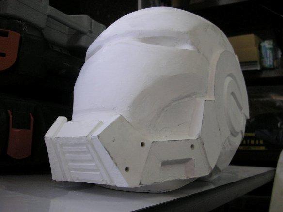 war machine head white