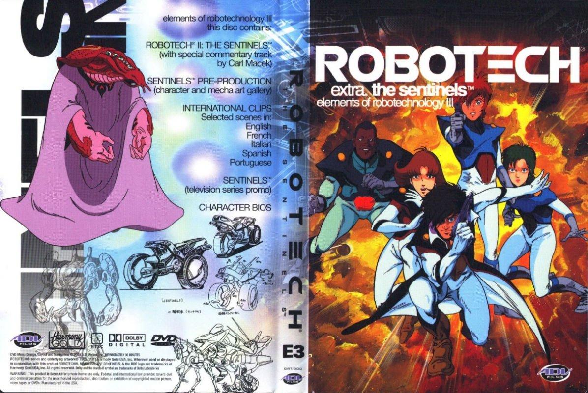 7 Robotech 2 The Sentinels