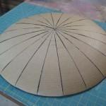 Cardboard Captain America Shield
