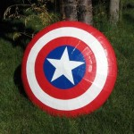 Duct Tape Captain America Shield