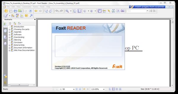 Skim PDF reader