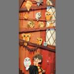 Harry Potter Paper Art Owls