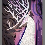 Harry Potter Patronus Paper Art Close-up