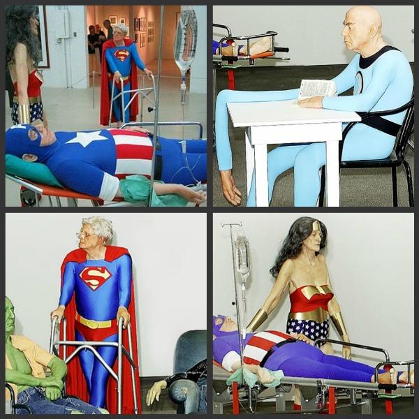 Dylan Collard Aging Superheroes