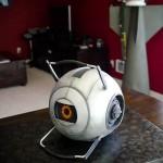 Portal 2 Space Sphere Cake