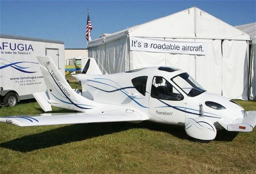 flying car road legal