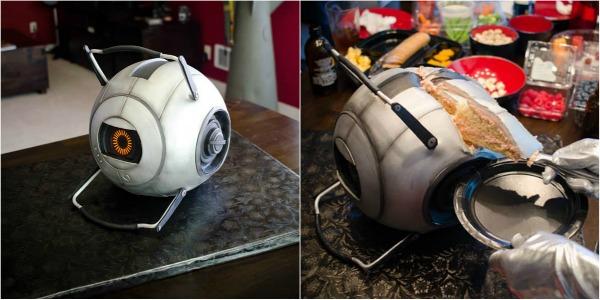 Portal 2 Space Core Cake