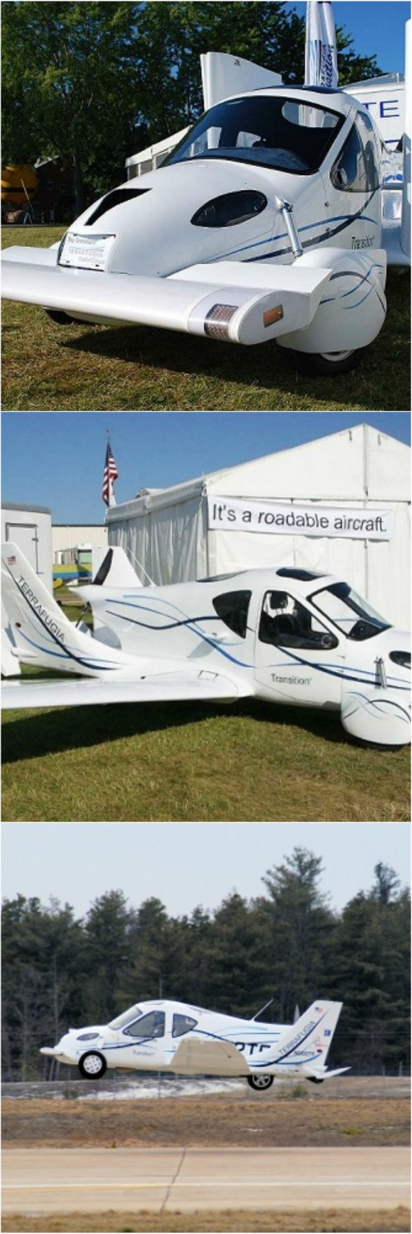 flying car road legal