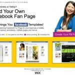 wix fanpage