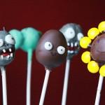 plants vs. zombies cake pops