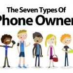 7 type of iphone owners thumb