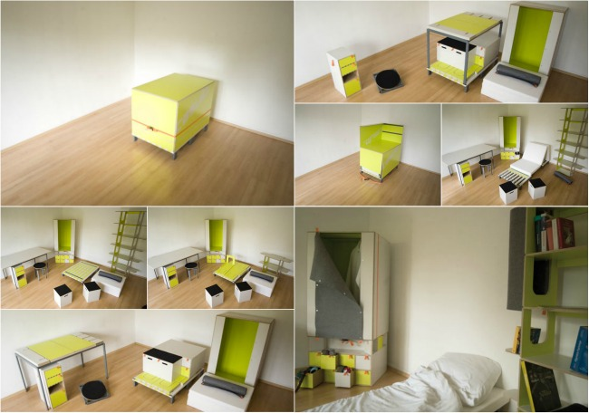 Casulo Room in a Box Before