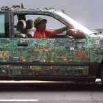 Circuit Board Auto Art