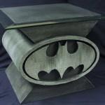 Custom Batman Bat-Symbol Coffee Table