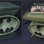 Custom Design Batman Bat-Symbol Coffee Table