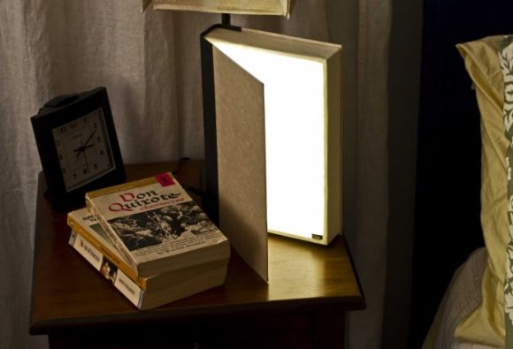 Do it Yourself Book Lamp