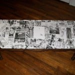 Domu Decoupaged Coffee Table