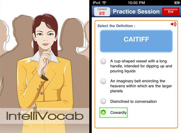 IntelliVocab iPhone App