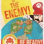 Mario Propaganda Poster 2