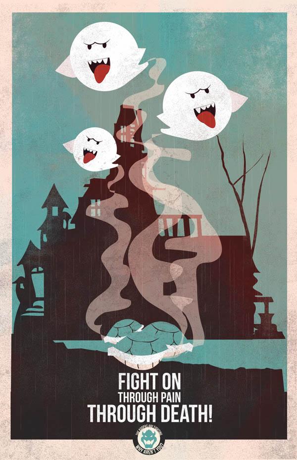 Mario Propaganda Poster 1