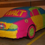 Post-it Auto Art