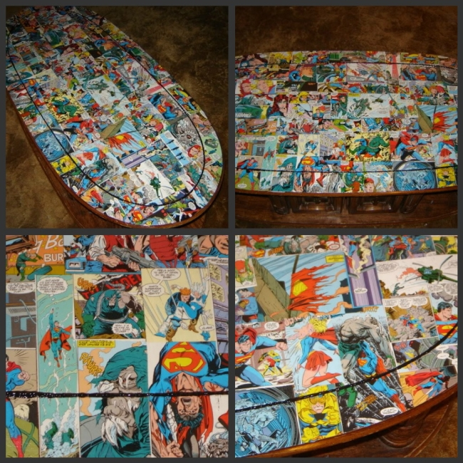 Superman Coffee Table