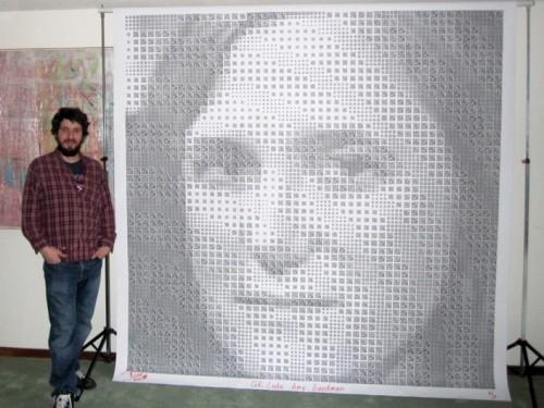 Amy Goodman QR portrait