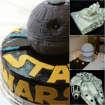 death star space ship cakes