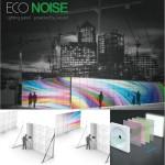 eco noise lighting panel
