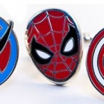 marvel superhero cufflinks