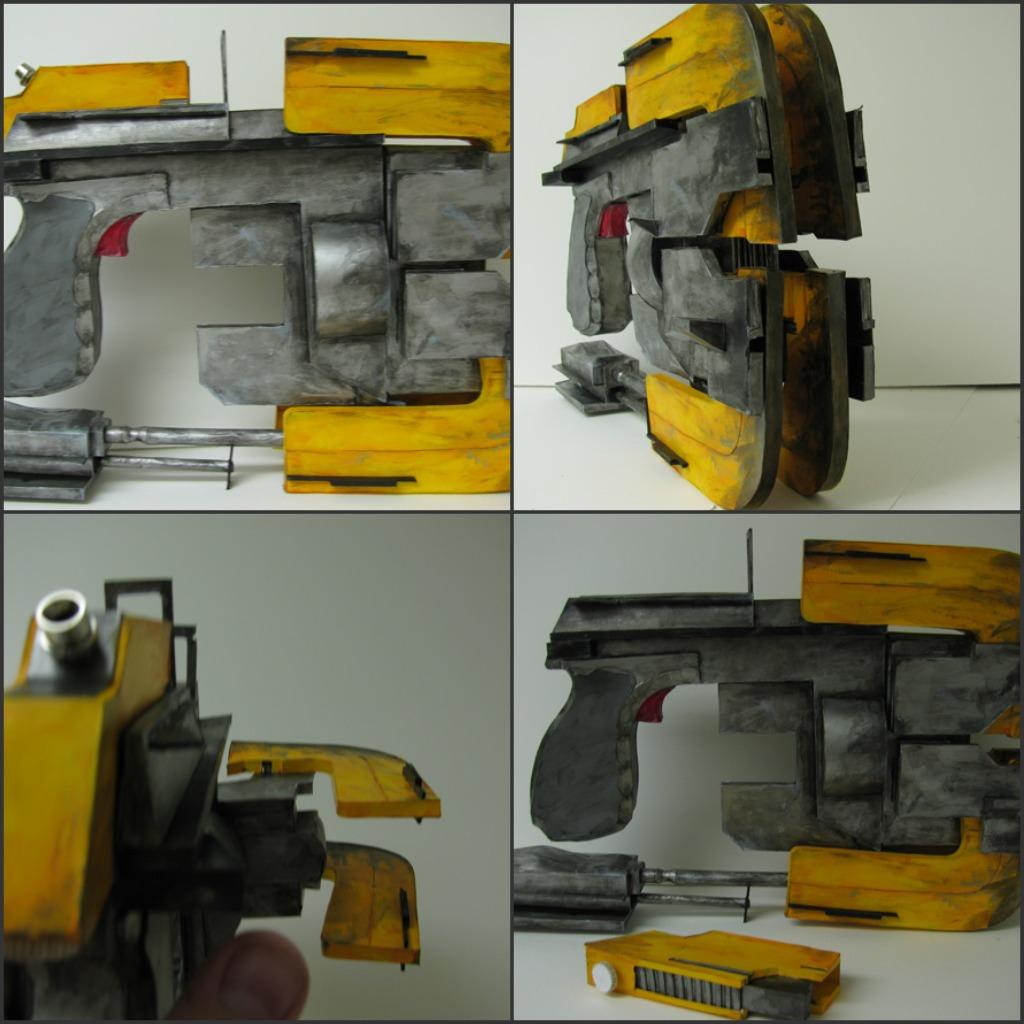 panzer tank papercraft weapons
