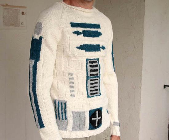 r2-d2 sweater