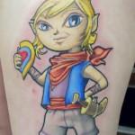 tetra zelda tattoo