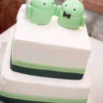 Android Wedding Cake
