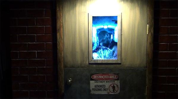 Axe Murderer Haunted House Door