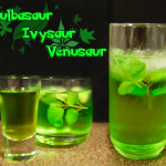 Bulbasaur Evolution Cocktails
