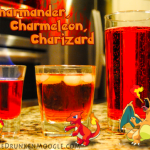 Charmander Evolution Cocktails