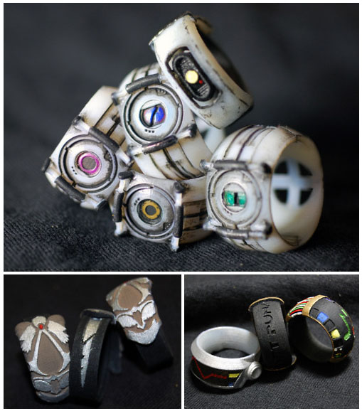 Geek Culture and Gaming Rings
