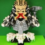 Predator Lego Bust Portrait Build 1