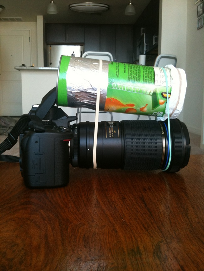 Pringles Macro Lens Light