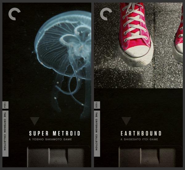 SNES Criterion Metroid Earthbound