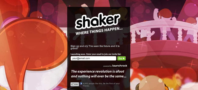 Shaker Screenshot