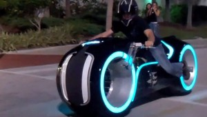 Tron Electric Lightcycle Mod