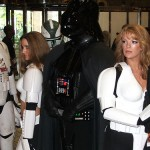 Vader has the girls