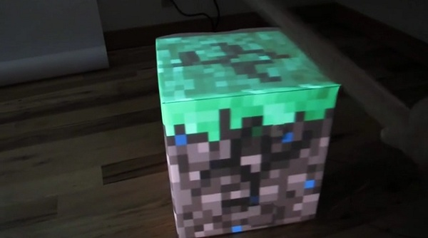 Working Minecraft Block