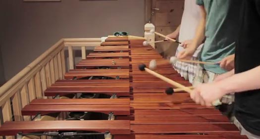 Zelda Theme on Marimba