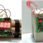 bomb explosive alarm clock